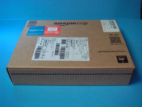 これが製品パッケージ。配達用のAmazonの箱ではありません