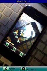 カメラ側のカメラモード画面